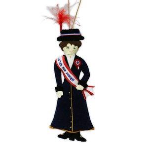 St nicholas St. Nicolas Suffragette Votes For Women Ornament