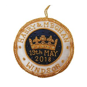 St. Nicolas St. Nicolas Harry & Meghan Royal Wedding Ornament