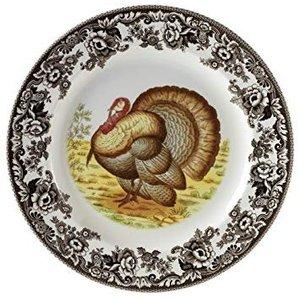 Spode Spode Woodland Dinner Plate - Turkey