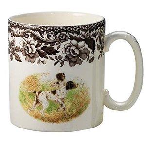 Spode Woodland Dog Mug - Pointer
