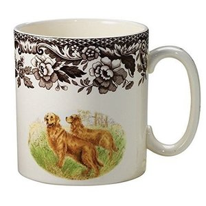 Spode Spode Woodland Dog Mug - Golden Retriever