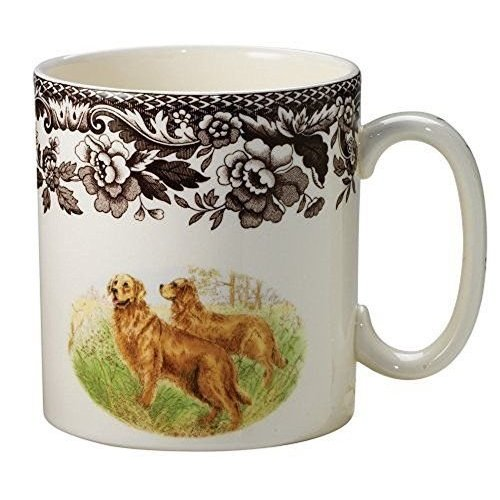 Spode Spode Woodland Mug Golden Retriever