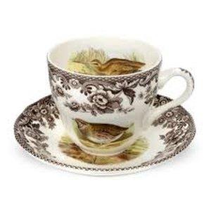 Spode Woodland Teacup & Saucer