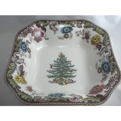 Spode Christmas Tree Grove Square Bowl