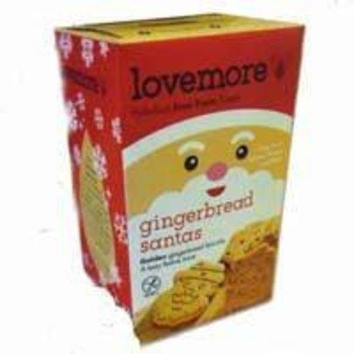 Lovemore Gluten Free Gingerbread Santas
