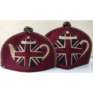 Woven Magic Woven Magic Union Jack Patriotic Felt Tea Cosy