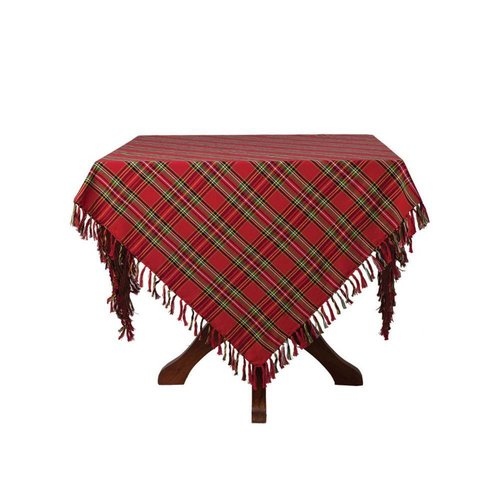 April Cornell April Cornell Christmas Plaid Tablecloth 60 x 90