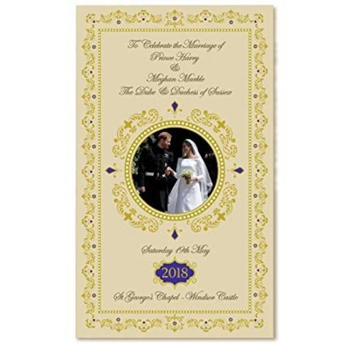 Elgate Harry & Meghan Royal Wedding Commemorative Tea Towel