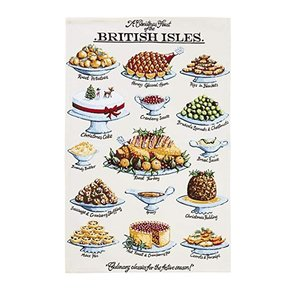 Ulster Weavers Ulster Weavers A Christmas Feast of the British Isles Tea Towel