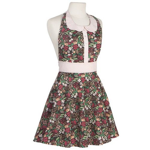 Now Designs Now Designs One Size Zoe Night Bloom Apron
