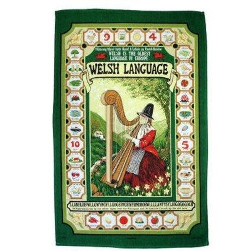 Samuel Lamont Welsh Language Tea Towel