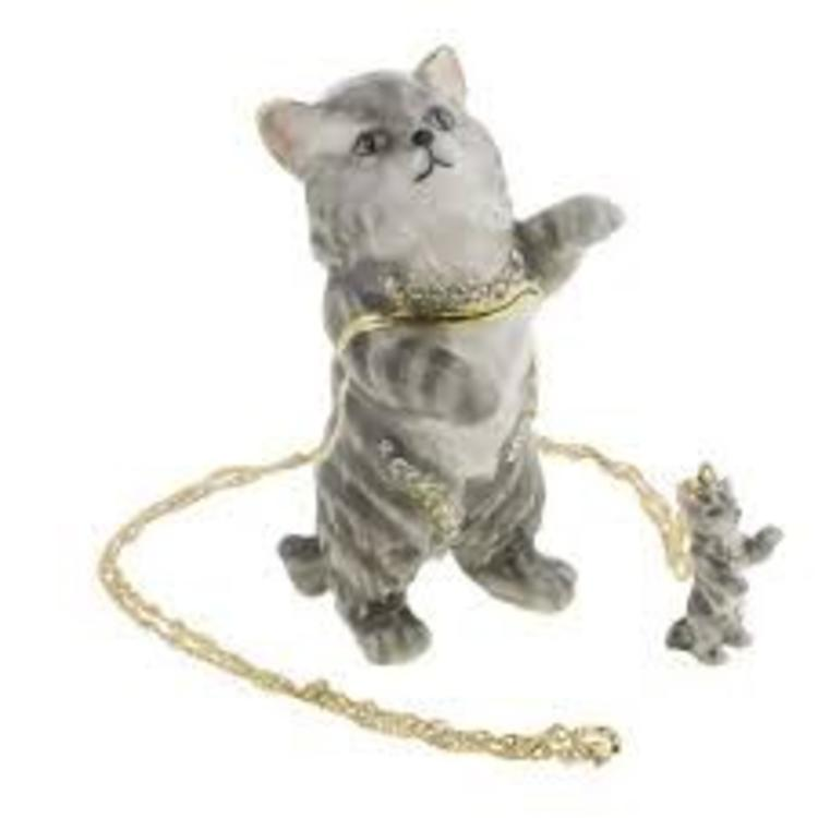 Kingspoint Designs 62569 Kingspoint Designs Earl Grey Cat