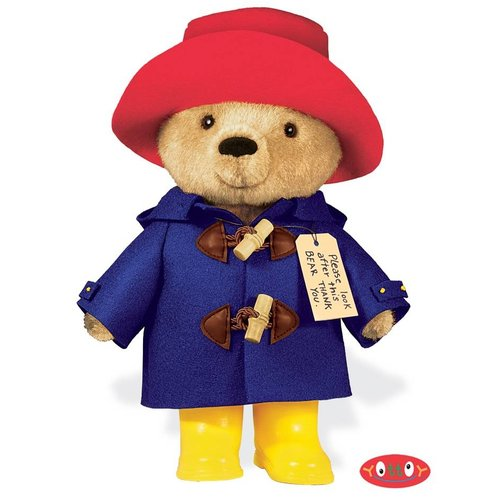 "Yottoy Collection Paddington Bear 10"" Yellow"