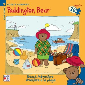 Paddington Bear Paddington Bear Beach Adventure Mini Puzzle