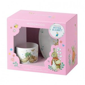 Peter Rabbit Wedgwood Refresh Peter Rabbit 2pc Set Pink
