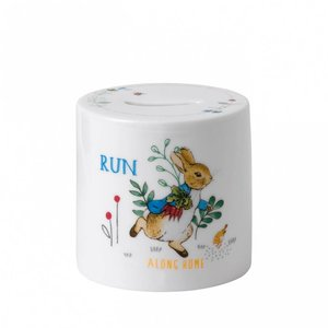 Wedgwood Peter Rabbit Money Box Blue Wedgwood