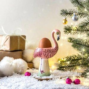 hannah turner Hannah Turner Flamingo Egg Cup