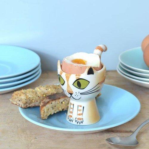 Hannah Turner Hannah Turner Ginger Tabby Cat Egg Cup