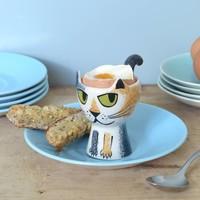 Hannah Turner Tortoise Shell Cat Egg Cup