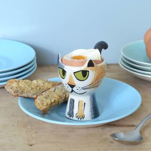Hannah Turner Hannah Turner Tortoise Shell Cat Egg Cup