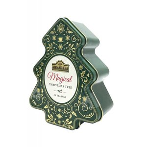 Ahmad Tea Ahmad Magical Christmas Tree Tea Bags Tin