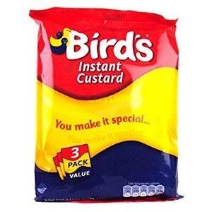 Birds Instant Custard 3PK