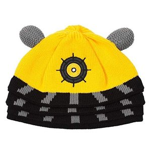 Doctor Who Dalek Beanie Yellow