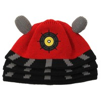 Doctor Who Dalek Beanie Red