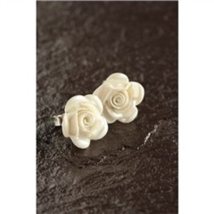 Belleek Belleek Living Rose Earrings