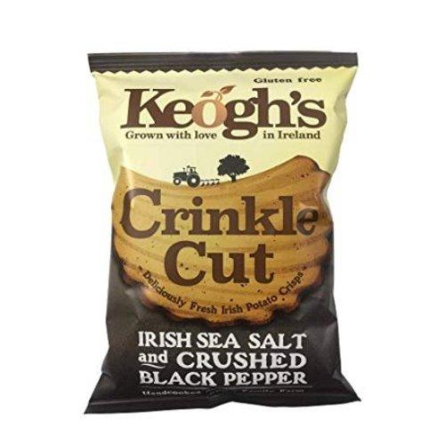 Keoghs Crinkle Cut Salt & Balsamic Vinegar Crisps