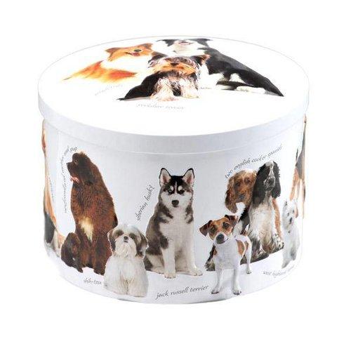 Gardiners of Scotland Gardiners of Scotland 7oz Vanilla Fudge Round Dog Tin