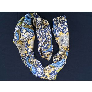 William Morris Silk Shawl