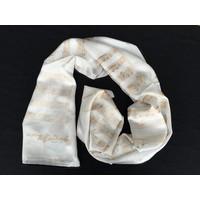 Mozart Serenade White Silk Scarf