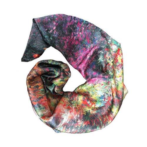Monet Shawl Silk garden