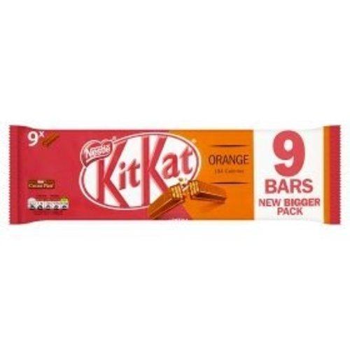 Kit Kat Orange - 9 Bars