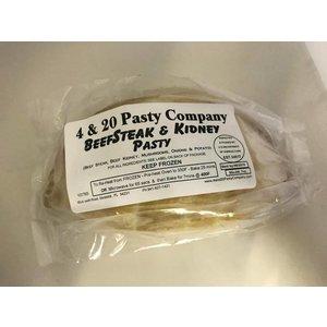 4 & 20 Pasty Co. 4 & 20 Pasty Co. Beefsteak & Mushroom Pasty