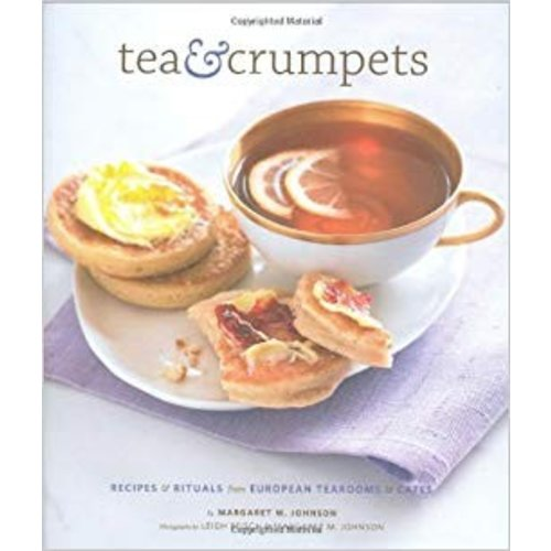 Chronicle Tea & Crumpets Hardcover Book