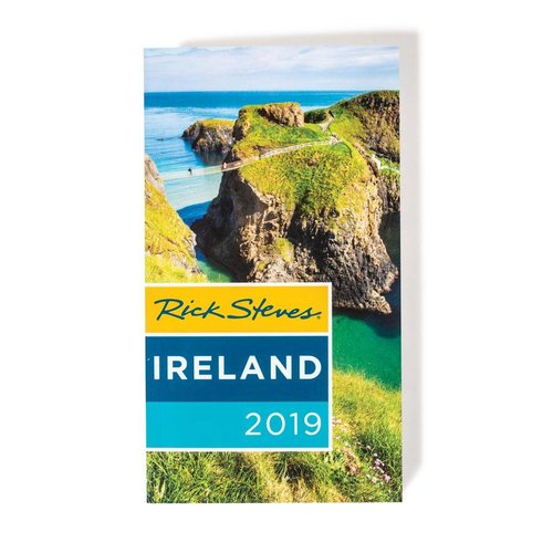 Rick Steve's Ireland 2019 Book/Foldout Map