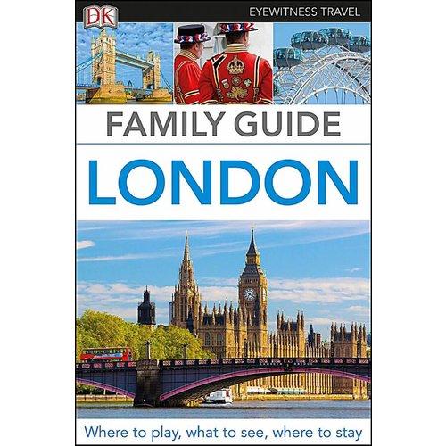 DK Family Guide London Travel Book
