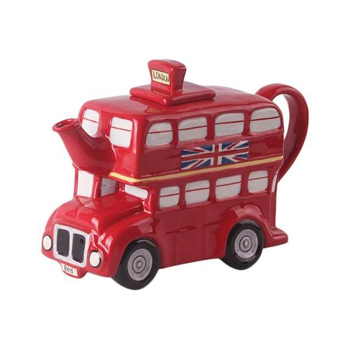 Blue Sky Blue Sky London Bus Teapot