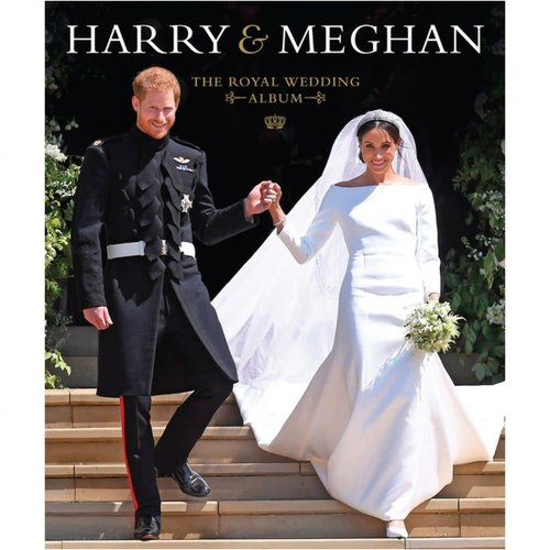 Harry & Meghan The Royal Album Hardcover Book
