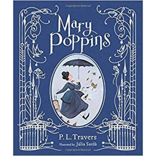 Mary Poppins Hardcover Book (illustrated gift edition)