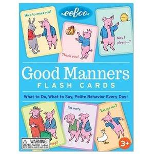 eeBoo Good Manners Flash Cards (2ED)