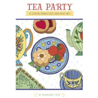 Tea Party A Color, Punch Out, and Play Set