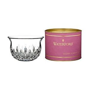 "Waterford GIFTOLOGY LISMORE SUGAR BOWL 5"" (BERRY TUBE)"