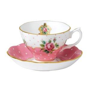 Royal Albert Cheeky Pink Teacup & Saucer Set