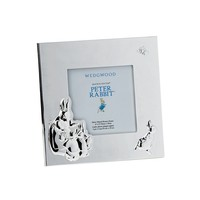 Wedgwood PETER RABBIT SILVER FRAME 3.5X3.5
