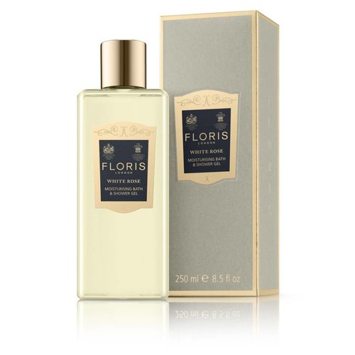 Floris of London White Rose Moisturising Bath & Shower Gel  250 ml
