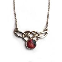 Heathergems Sterling Silver Celtic Knot Pendant