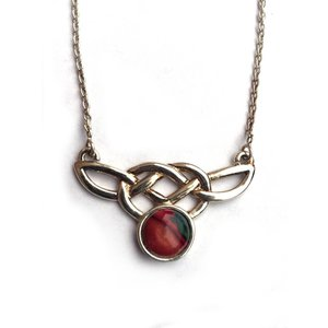 Heathergems Heathergems Sterling Silver Celtic Knot Pendant